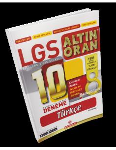 Borealis Yayıncılık LGS Altın Oran Türkçe 10 Deneme