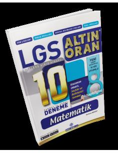 Borealis Yayıncılık LGS Altın Oran Matematik 10 Deneme