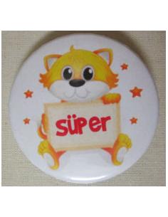 Mudu Yayıncılık Süper Rozeti (Kedili)