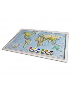 Kabartma YAP - BOY Dünya Siyasi Haritası (35x50) - Gürbüz Yayınları