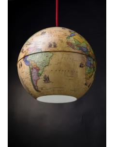 Globe Light Sarkıt Antik Küre (26 cm) - Gürbüz Yayınları