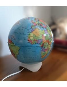 Globe Light Abajur Siyasi Küre (26 cm) - Gürbüz Yayınları