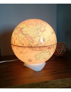 Globe Light Abajur Antik Küre (26 cm) - Gürbüz Yayınları