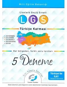 Transfer Yayınları LGS Türkiye Karması 5 Deneme