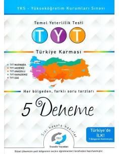 Transfer Yayınları TYT Türkiye Karması 5 Deneme