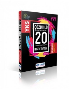 Yanıt Yayınları YKS 1. Oturum TYT Matematik Çözümlü Çek Kopar 20 Deneme
