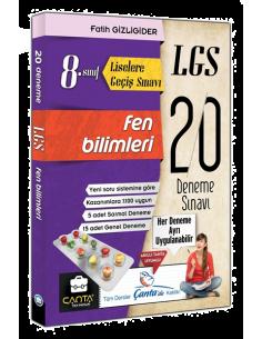 Çanta Yayınları 8. Sınıf LGS Fen Bilimleri 20 Deneme