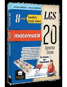 Çanta Yayınları 8. Sınıf LGS Matematik 20 Deneme