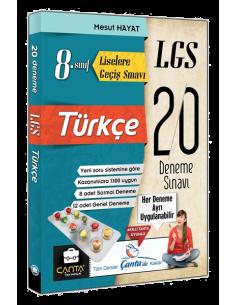 Çanta Yayınları 8. Sınıf LGS Türkçe 20 Deneme