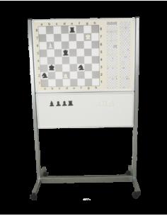 Tekerlekli Ayaklı Manyetik Eğitimli Satranç Tahtası (110 x 70) - ANT 153