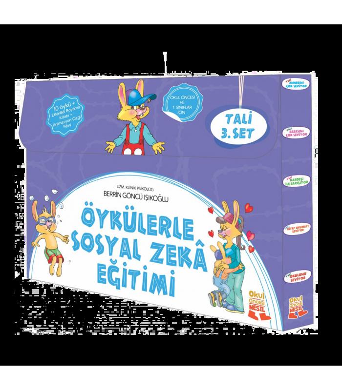 Nesil Yayınları öykülerle Duygusal Zeka Eğitimi Tali 3set