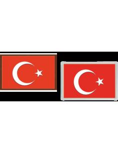 Türk Bayrağı (MDF - Alüminyum Çerçeve)