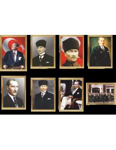 Çerçeveli Atatürk Portreleri - ANT 292