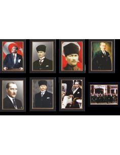 Deri Çerçeveli Atatürk Portreleri - ANT 290