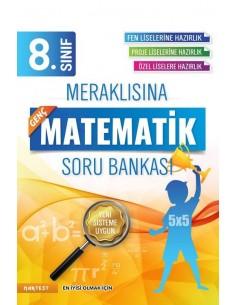Nartest 8. Sınıf Meraklısına Genç Matematik Soru Bankası