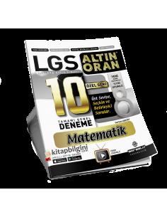 Borealis Yayıncılık LGS Altın Oran Matematik 10 Deneme (Özel Seri)