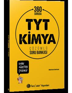 FenCebir Yayınları 360 Soruda TYT Kimya Çözümlü Soru Bankası