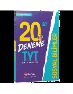 FenCebir Yayınları TYT Sosyal Bilimler 20x20 Deneme