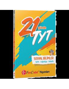 FenCebir Yayınları YKS TYT 21 Günde Sosyal Bilimler Soru Bankası
