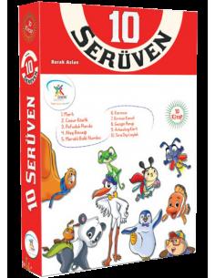 5 Renk Yayınları 10 Serüven Hikaye Seti (10 Kitap)