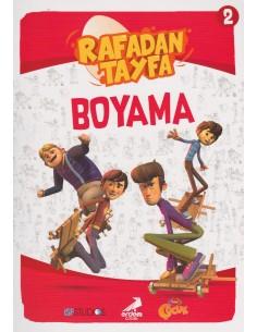 Erdem Yayınları Rafadan Tayfa Boyama Kitabı - 2