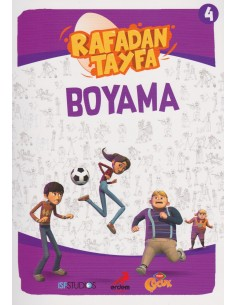 Erdem Yayınları Rafadan Tayfa Boyama Kitabı - 4