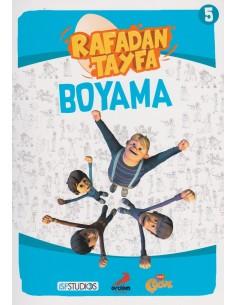 Erdem Yayınları Rafadan Tayfa Boyama Kitabı - 5