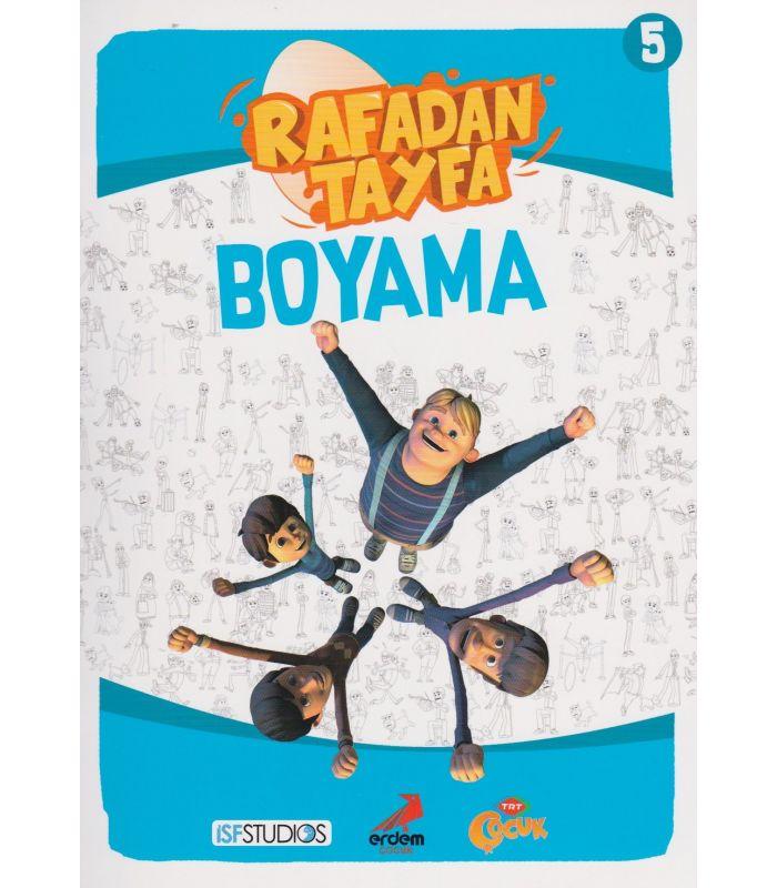 Rafadan Tayfa Boyama Kitabı 5 Erdem Yayınları