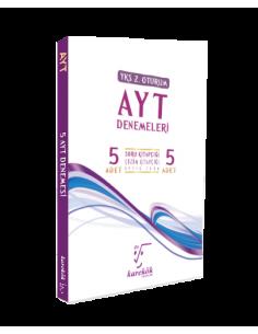 Karekök Yayınları YKS 2. Oturum AYT 5 Deneme