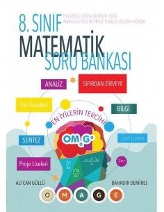 Omage 8. Sınıf Fen Liselerine Hazırlık Matematik Soru Bankası