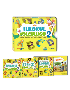 Üçgen Yayınları 2. Sınıf Mini İlkokul Yolculuğu Seti