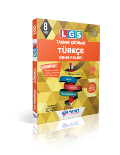Yanıt 8. Sınıf LGS Tamamı Çözümlü Türkçe Denemeleri