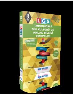 Yanıt 8. Sınıf LGS Tamamı Çözümlü Din Kültürü Denemeleri