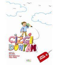 Erdem Yayınları Okul Öncesi Çizgi Dünyam Kavram Kitabı