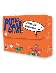 Nesil Çocuk Yayınları Patatesspor Dizisi - 3 (5 Kitap)