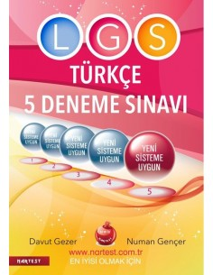 Nartest 8. Sınıf LGS 5 Türkçe Deneme Sınavı