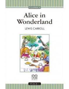 1001 Çiçek Yayınları Alice in Wonderland Stage 1