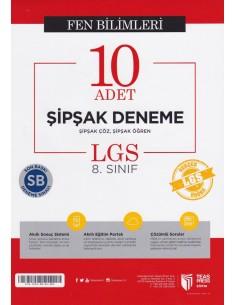 Teas Press 8. Sınıf LGS Türkçe 10 Adet Şipşak Deneme
