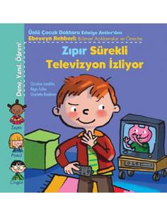 Uçanbalık Yayınları Zıpır Sürekli Televizyon İzliyor