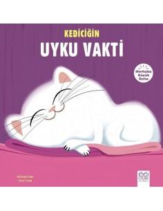 1001 Çiçek Yayınları Merhaba Küçük Deha - Kediciğin Uyku Vakti