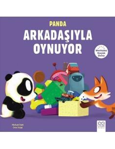 1001 Çiçek Yayınları Merhaba Küçük Deha - Panda Arkadaşıyla Oynuyor