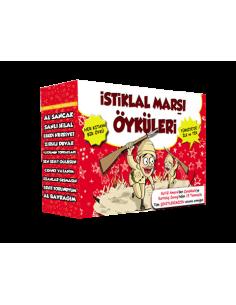 Kitap Kulübü Yayınları İstiklal Marşı Öyküleri (10 Kitap)