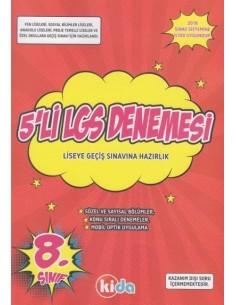 Kida Yayınları 8. Sınıf 5li LGS Denemesi