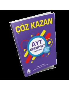 Çöz Kazan Yayınları AYT Edebiyat 20 Deneme