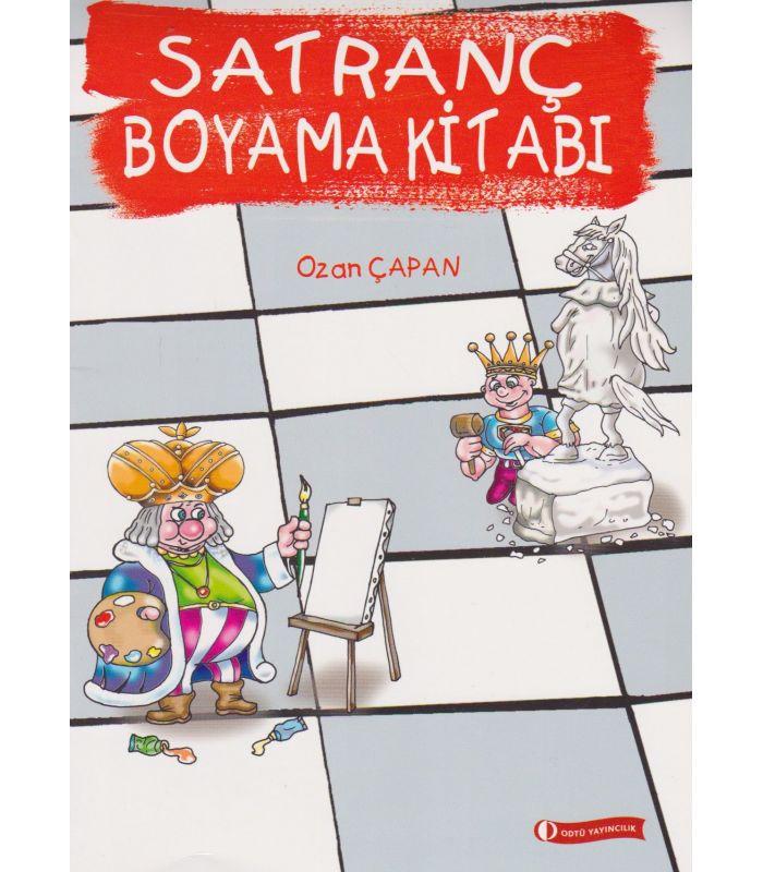 Odtü Yayınları Satranç Boyama Kitabı