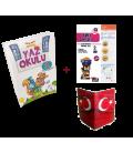 5 Renk 2. Sınıf Kampanyalı Yaz Okulu Tatil Kitabı (Yaprak Test + Karne Kılıfı)
