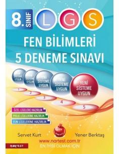 Nartest 8. Sınıf LGS 5 Fen Bilimleri Deneme Sınavı