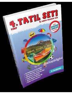 Tudem Yayınları 4.Sınıf Tatil Seti(5.Sınıfa Geçenlere)