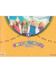 3. Sınıf Happy And Friendly Avtivities Yaz Tatil Seti (4. Sınıfa Geçenlere)