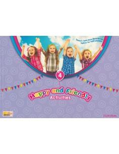 4. Sınıf Happy And Friendly Avtivities Yaz Tatil Seti (5. Sınıfa Geçenlere)